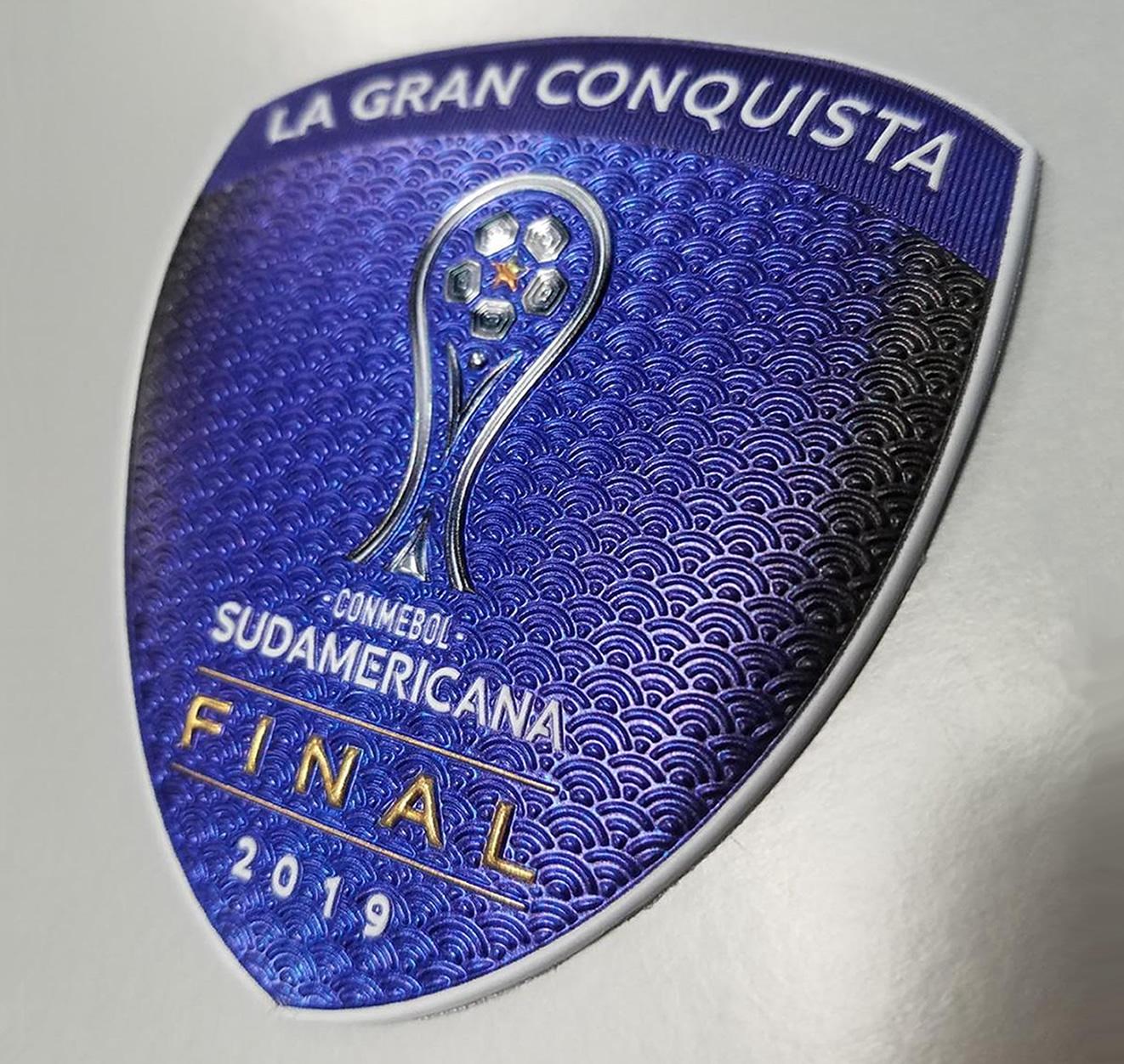 Parche oficial de la Final 2019 de la Copa Sudamericana   Imagen CONMEBOL
