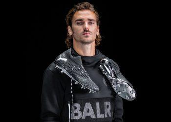 Antoine Griezmann con los botines Future x BALR | Imagen Puma