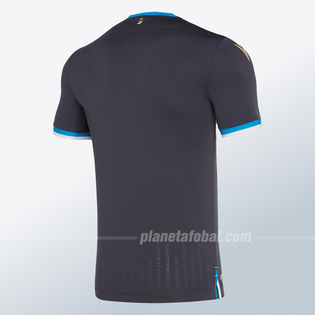 Tercera camiseta Macron del SPAL Ferrara 2019/20 | Imagen Web Oficial