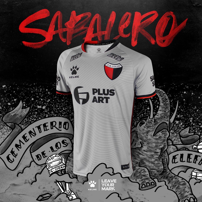 Tercera camiseta de Colón de Santa Fe 2019/2020 | Imagen Kelme