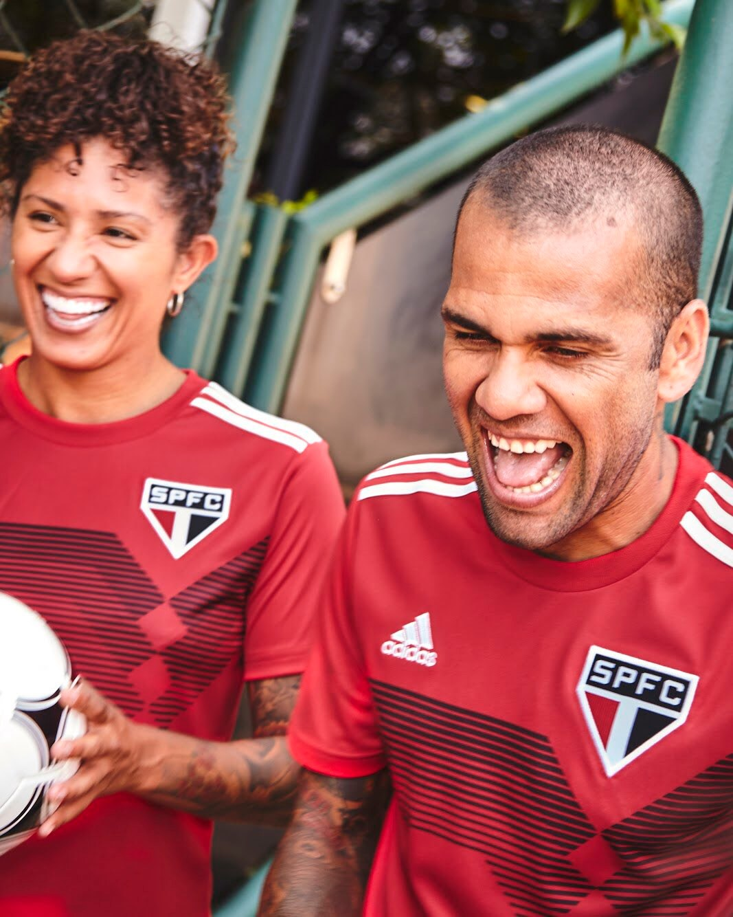"Camiseta ""70 Years Of Stripes"" del São Paulo | Imagen Adidas"