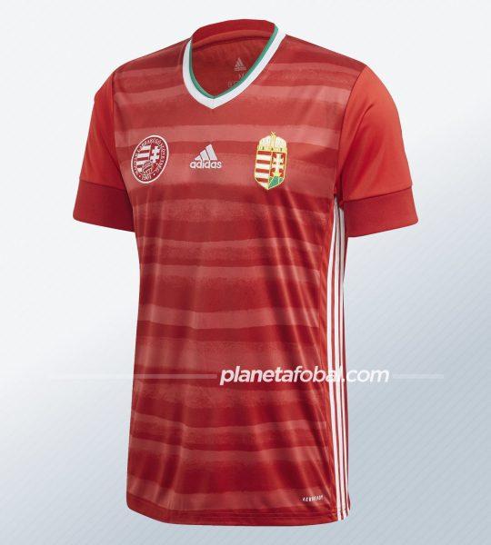 Camiseta titular de Hungría 2020/21 | Imagen Adidas