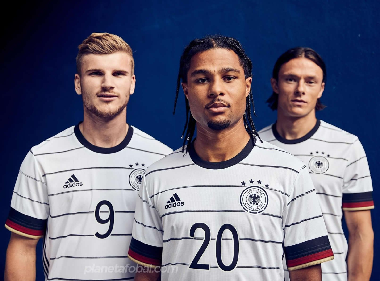 Camiseta titular Adidas de Alemania 2020/2021 | Imagen Adidas