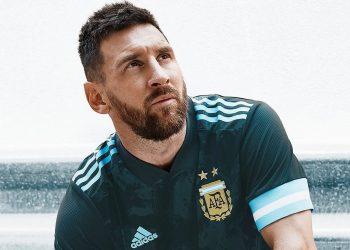 Camiseta suplente de Argentina Copa América 2020 | Imagen Adidas