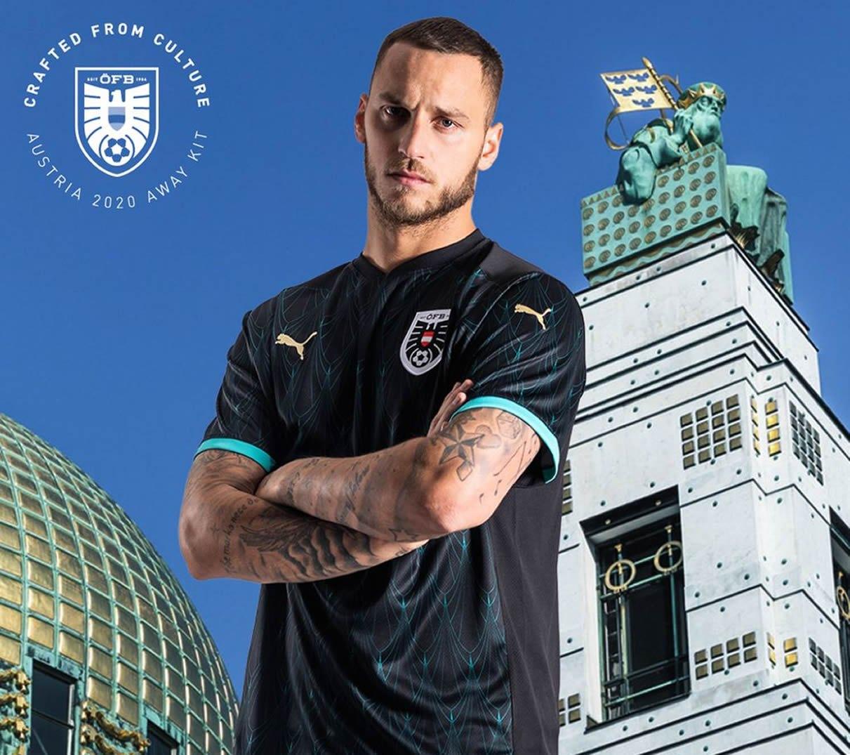 Camiseta suplente Puma de Austria 2020/2021 | Imagen OFB