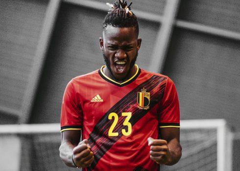 Camiseta titular de Bélgica Euro 2020 | Imagen Adidas