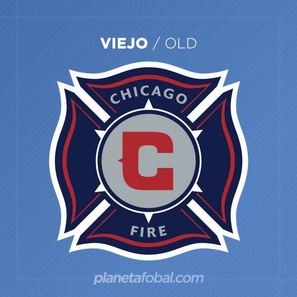 Viejo escudo del Chicago Fire | Imagen Web Oficial
