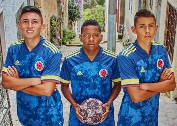 Camiseta suplente de Colombia Copa América 2020 | Imagen Adidas