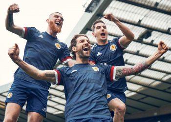 Equipación local Adidas 2020-2021 de Escocia | Imagen Scottish FA