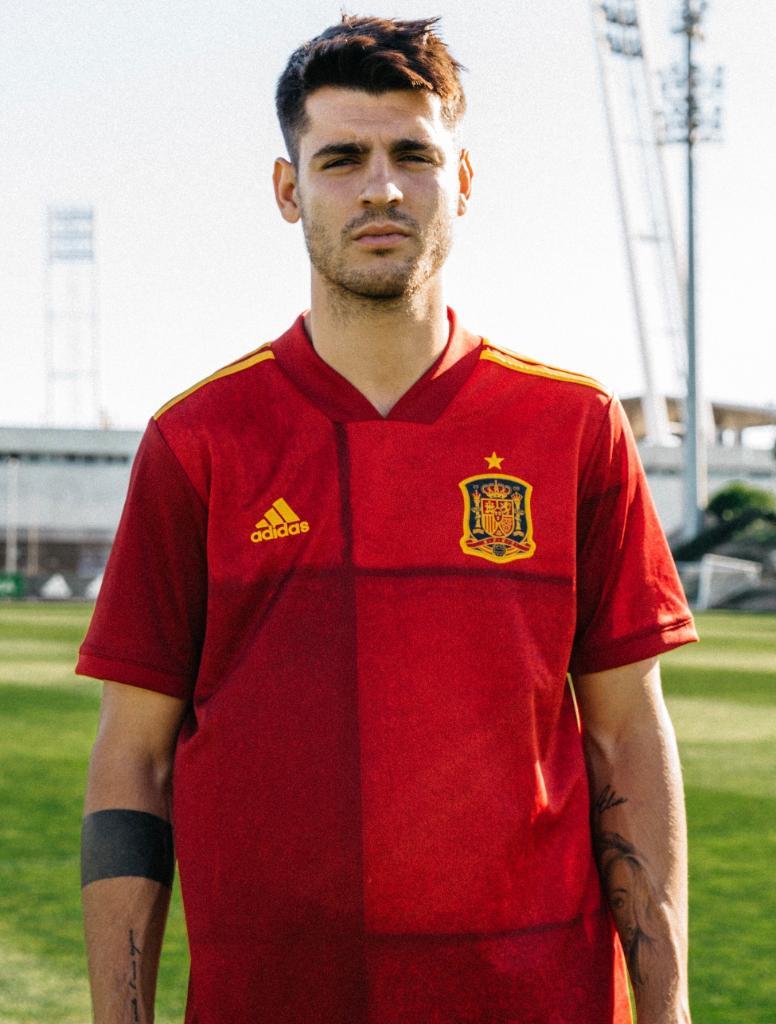 Camiseta Adidas de Espa\u00f1a Euro 2020