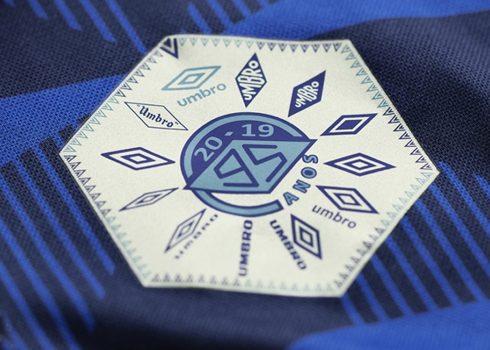 La etiqueta que comparten los seis diseños | Imagen Umbro