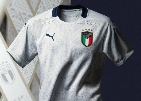 Camiseta suplente Puma de Italia Euro 2020 | Imagen FIGC
