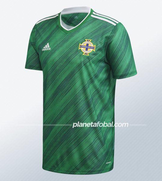 Camiseta titular de Irlanda del Norte 2020/2021 | Imagen Adidas