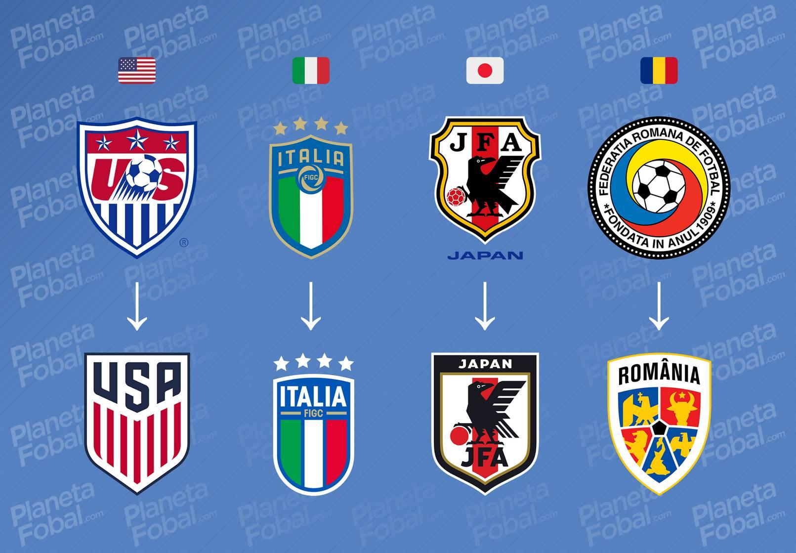 Evolución de Estados de Unidos, Italia, Japón y Rumania