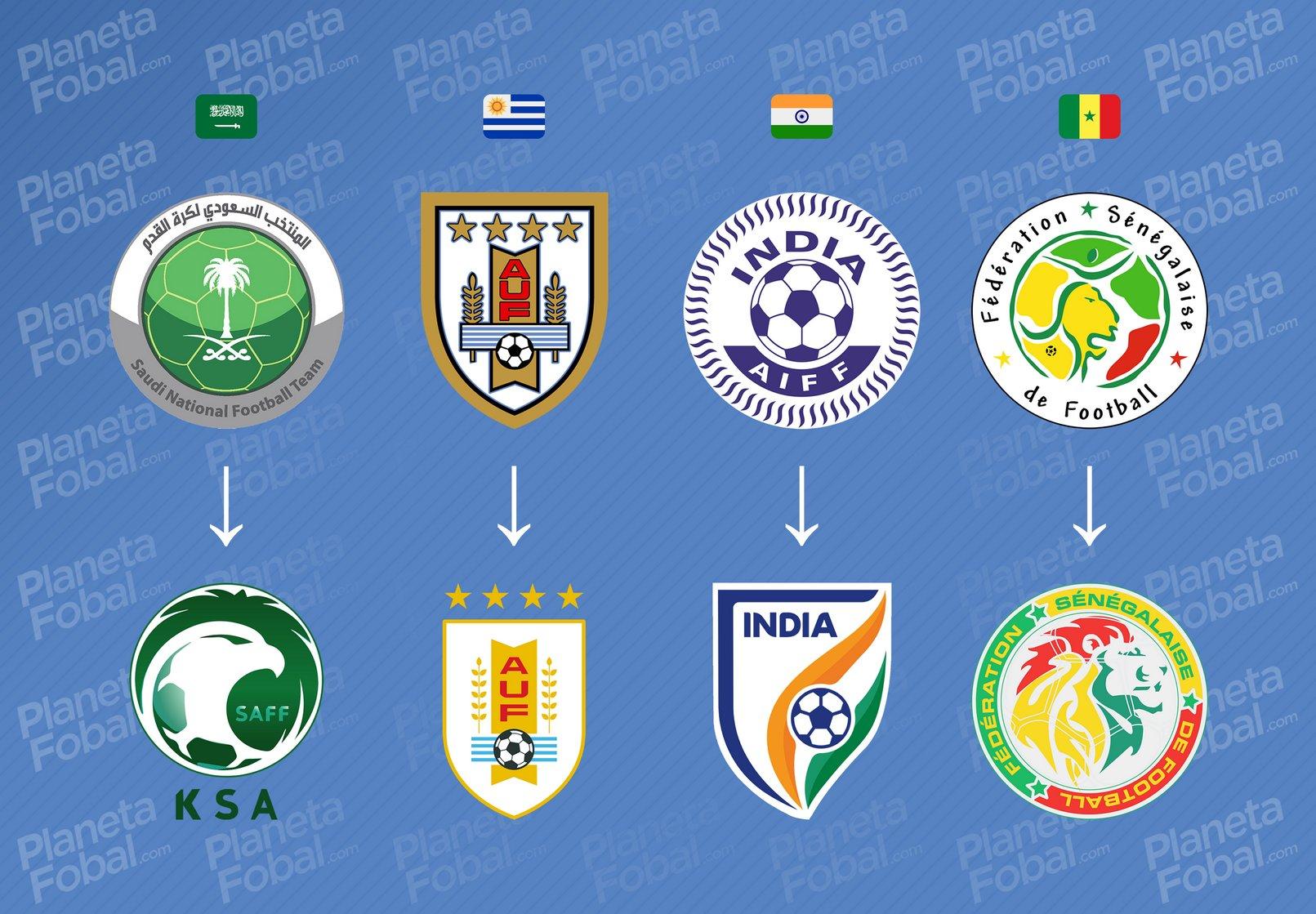 Evolución de Arabia Saudita, Uruguay, India y Senegal