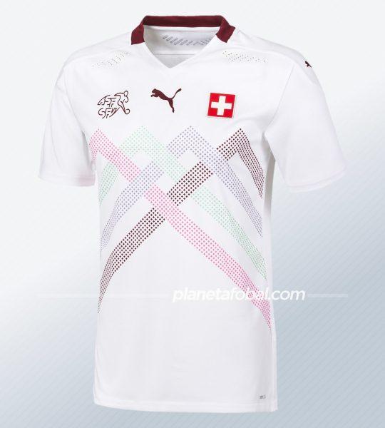 Camiseta suplente de Suiza 2020/2021 | Imagen Puma