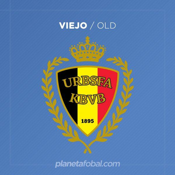 Viejo escudo de la selección de Bélgica | Imagen Royal Belgian FA