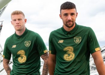 Camiseta New Balance de Irlanda 2019/2020 | Imagen Twitter Oficial