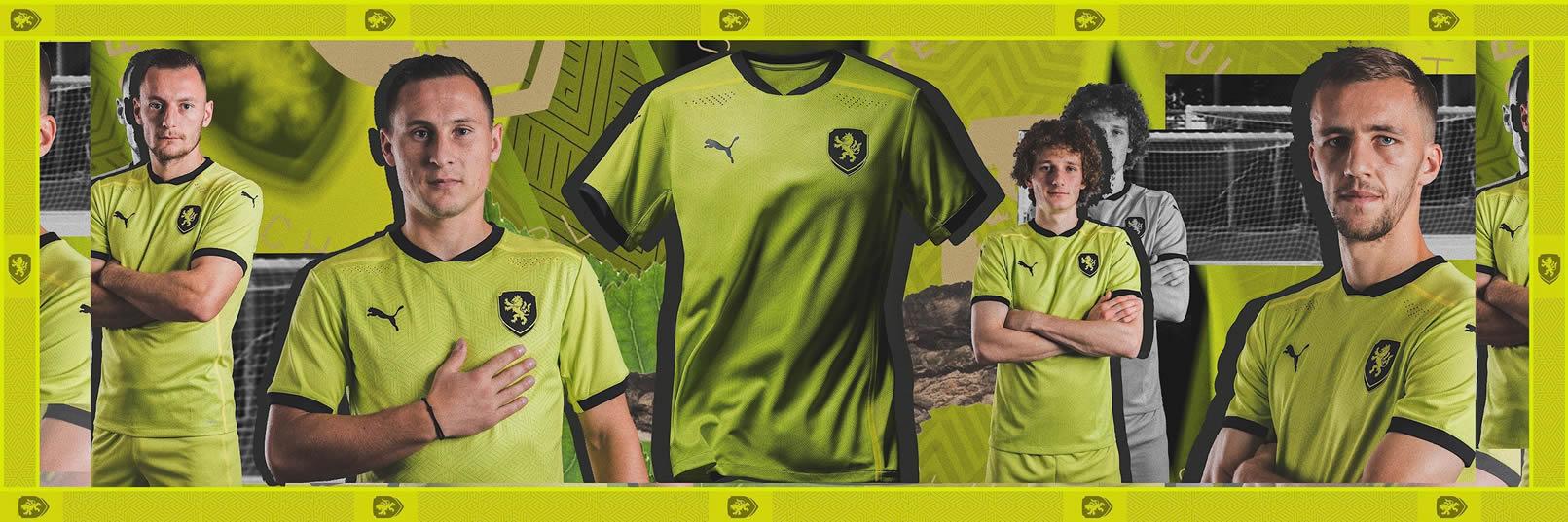 Camiseta suplente Puma de la República Checa 2020/21 | Imagen Web Oficial