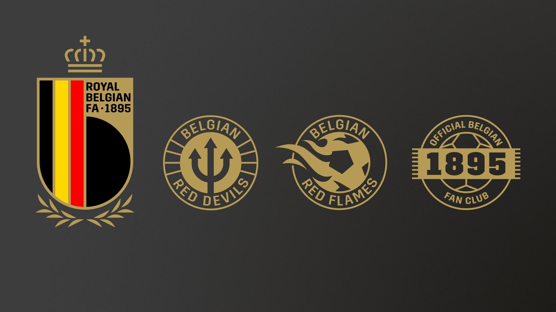 Nuevos logos de la Royal Belgian FA | Imagen Web Oficial