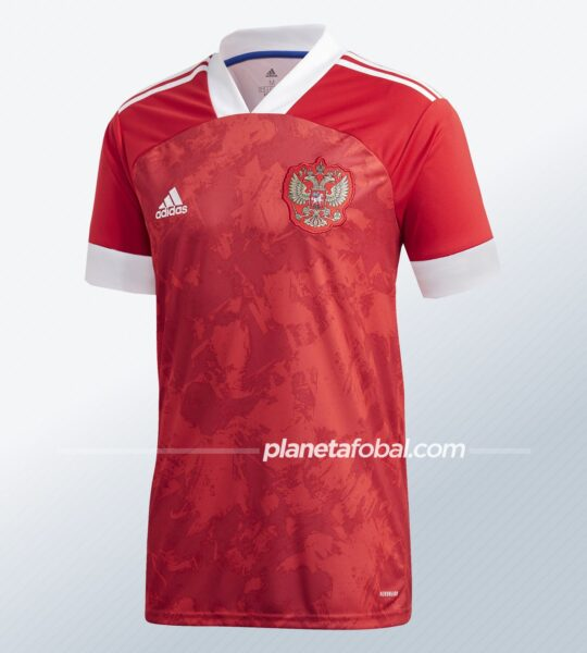 Camiseta titular de Rusia Euro 2020 | Imagen Adidas