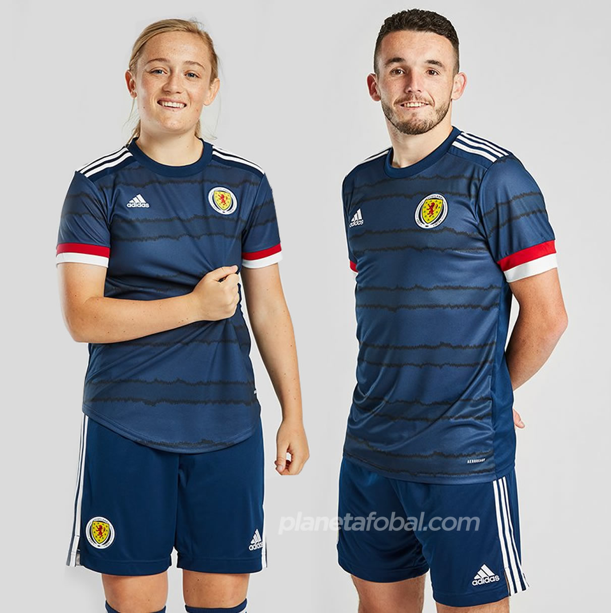 Camiseta Adidas de Escocia 2020/21   Imagen Scottish FA