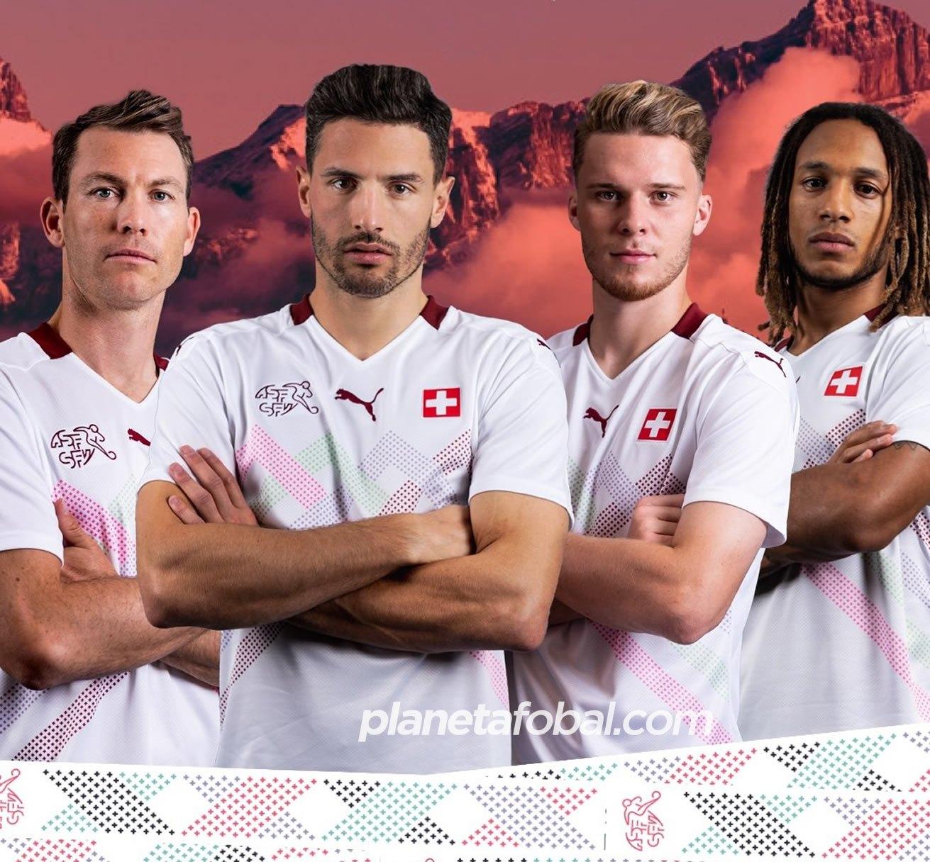Camiseta suplente Puma de Suiza 2020/2021 | Imagen Web Oficial
