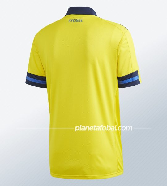Camiseta titular de Suecia 2020/2021 | Imagen Adidas