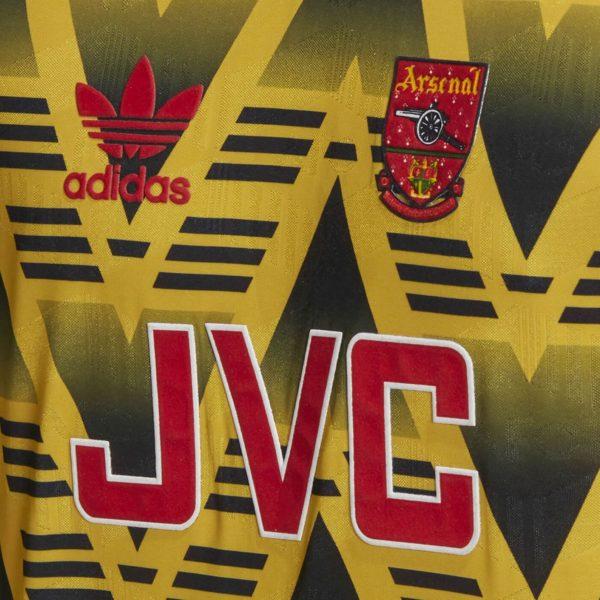 "Camiseta del Arsenal ""Bruised Banana"" 2019 | Imagen Adidas"