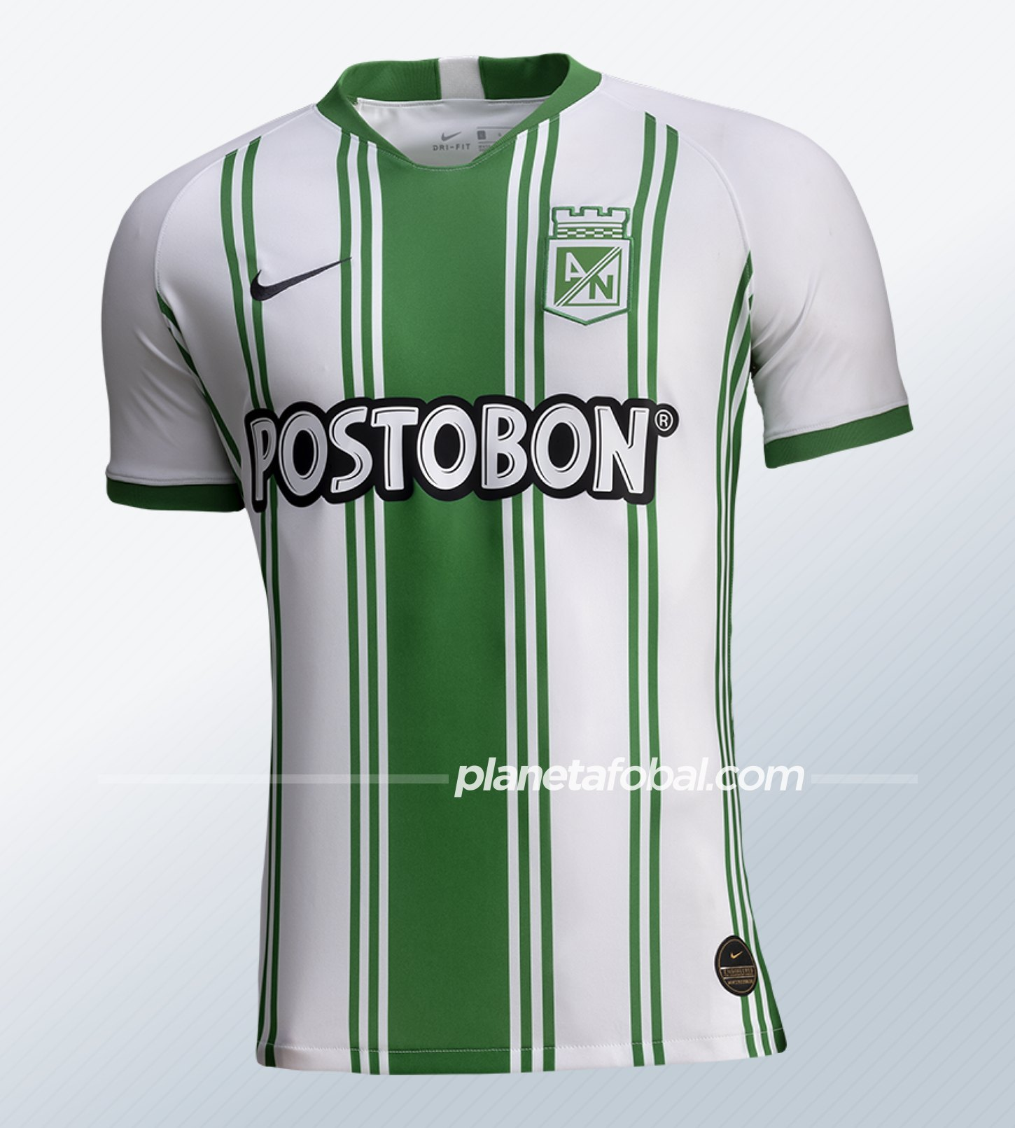 Camiseta local Nike de Atlético Nacional 2020   Imagen Web Oficial