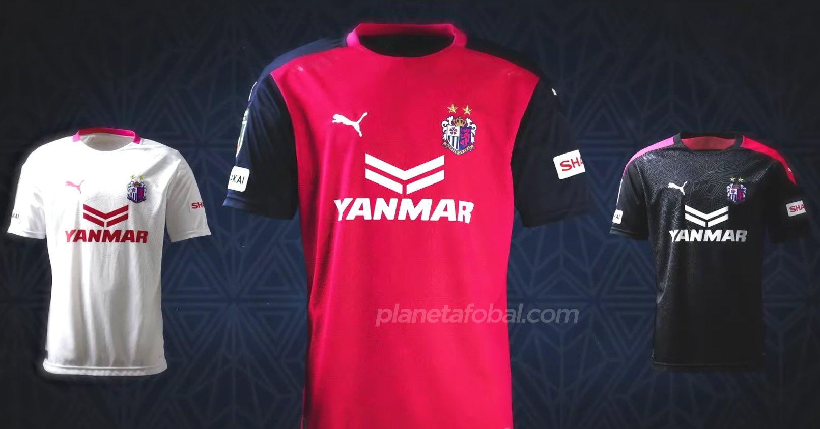 Camisetas Puma del Cerezo Osaka 2020 | Imagen Web Oficial