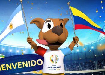 Mascota oficial de la Copa América Argentina Colombia 2020 | Imagen Twitter Oficial