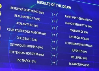 Cruces de octavos de final de la Champions League 2019/20 | Imagen UEFA