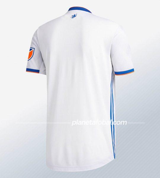 Camiseta suplente Adidas del FC Cincinnati MLS 2020 | Imagen Web Oficial