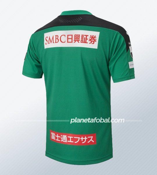 Camiseta de porteros Puma del Kawasaki Frontale 2020 | Imagen Web Oficial