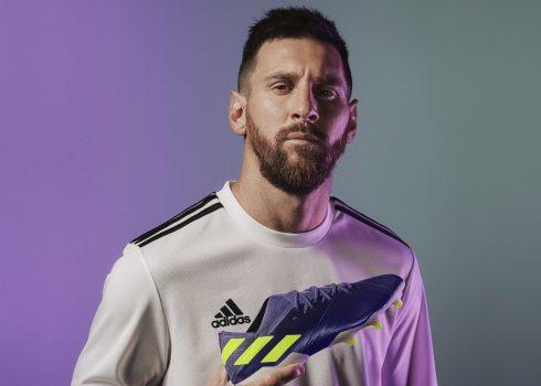 "Botines NEMEZIZ Messi ""Ballon D'Or"" 2019 | Imagen Adidas"