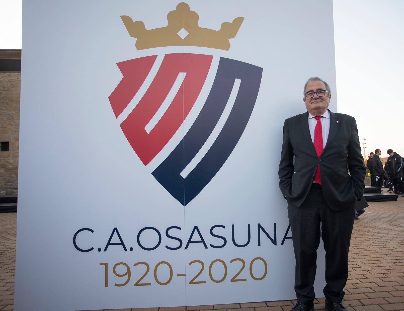 Osasuna develó su logo por su Centenario | Imagen Twitter Oficial