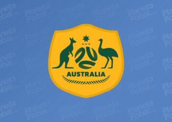 Nuevo escudo de la selección de Australia   Imagen Twitter Oficial