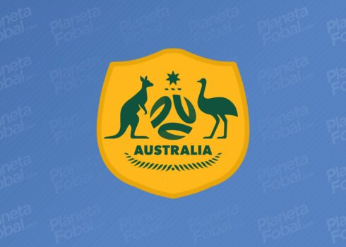 Nuevo escudo de la selección de Australia | Imagen Twitter Oficial
