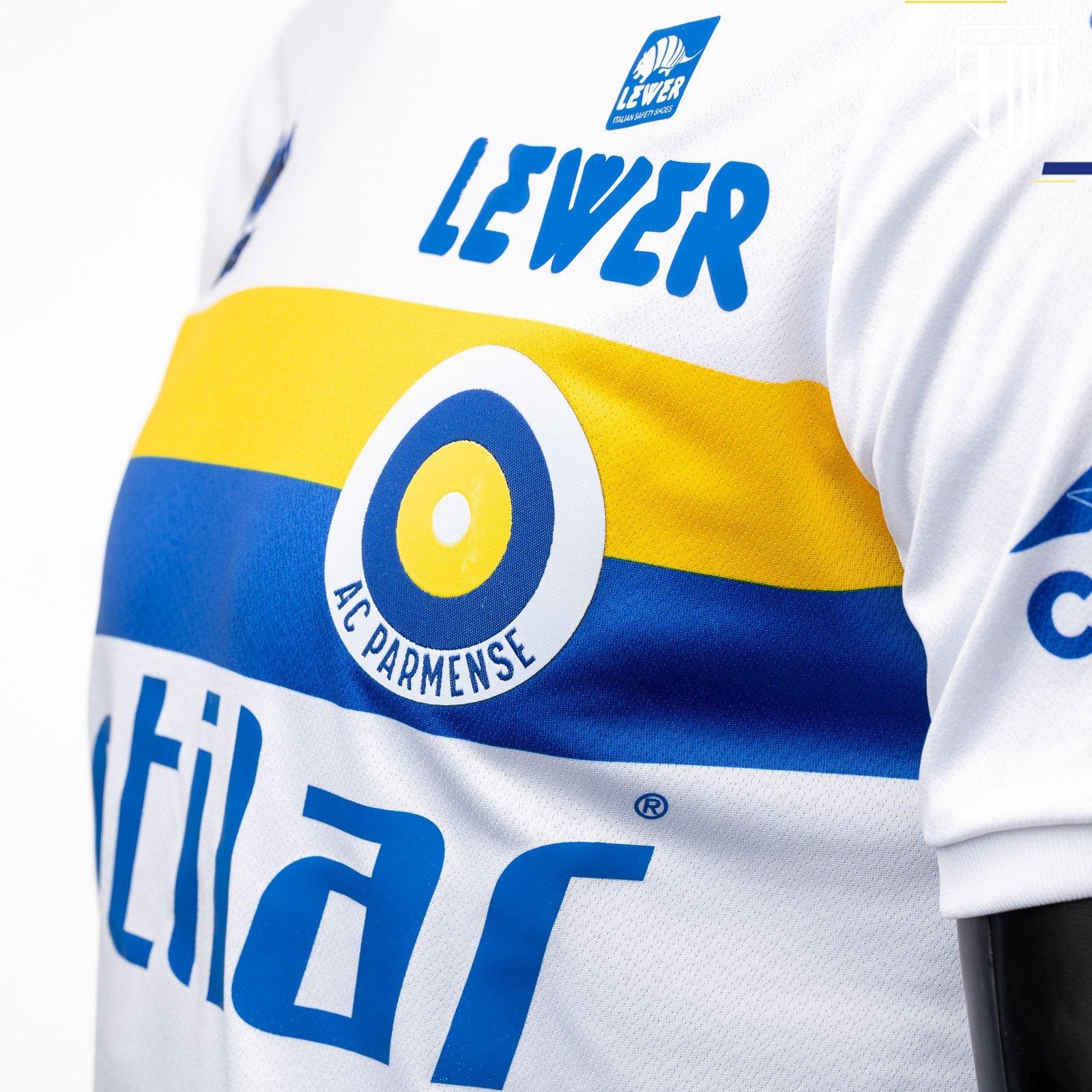 "Camiseta ""AC Parmense"" Erreà del Parma Calcio 1913 2019 | Imagen Web Oficial"