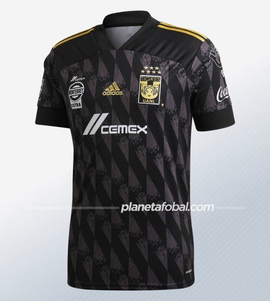 Tercera camiseta de los Tigres UANL 2020 | Imagen Adidas