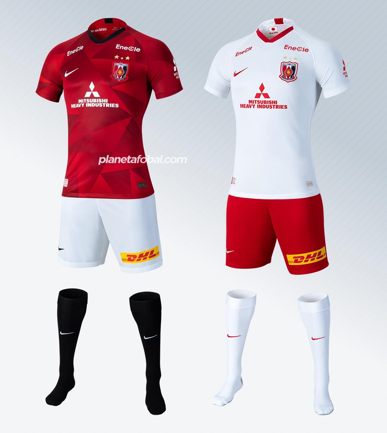 Camisetas 2020 del Urawa Red Diamonds | Imágenes Nike