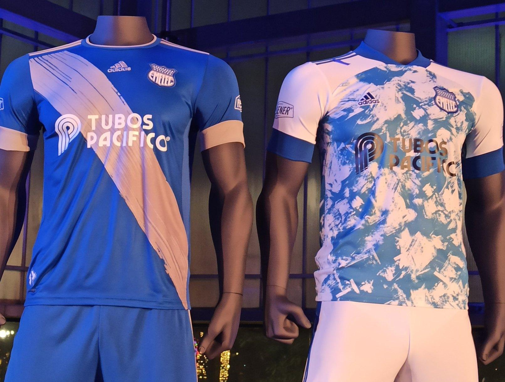 Camisetas Adidas 2020 del Emelec | Imagen Twitter @ElCanalDFutbol