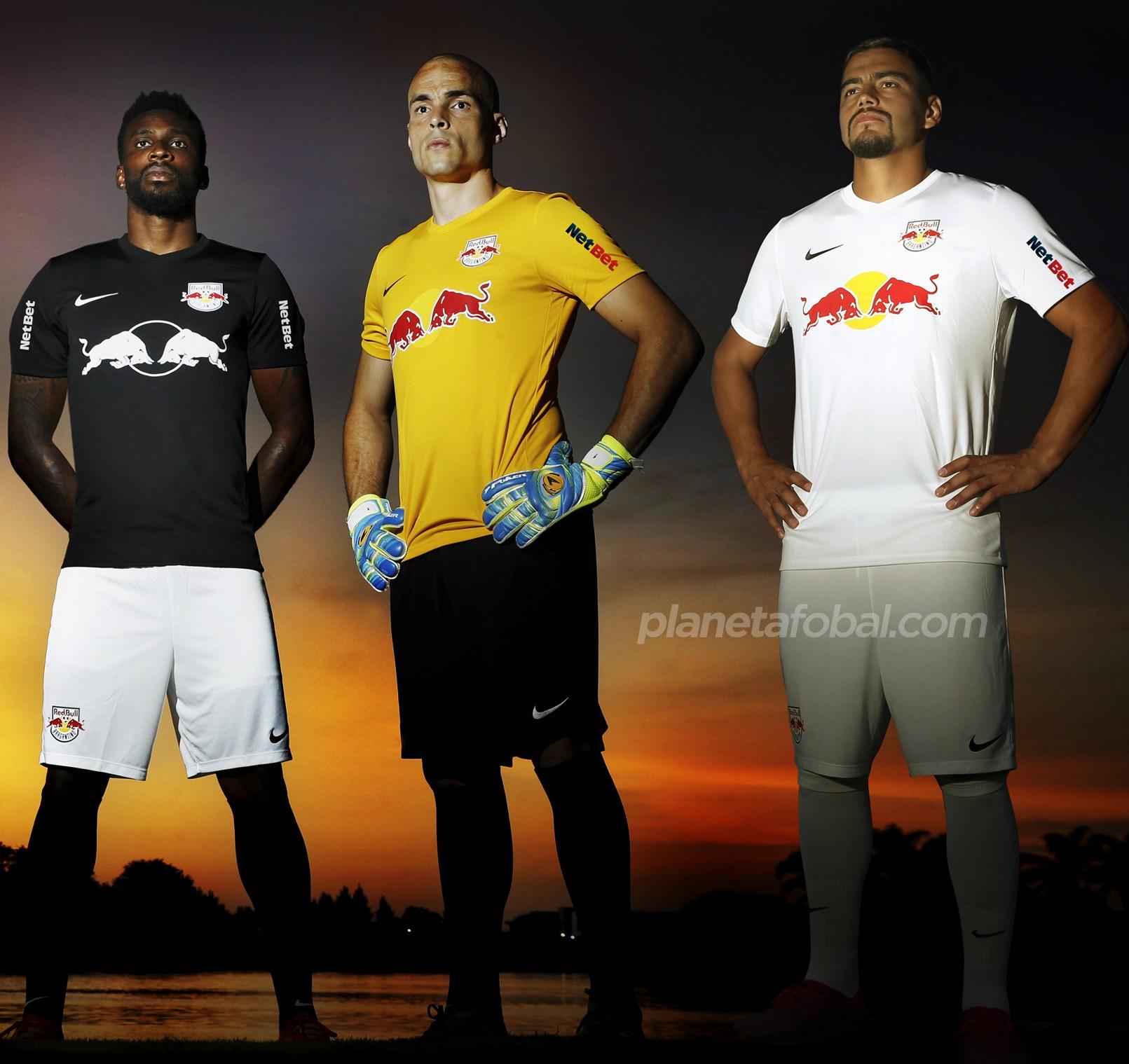 Camisetas Nike del Red Bull Bragantino 2020 | Imagen Instagram Oficial