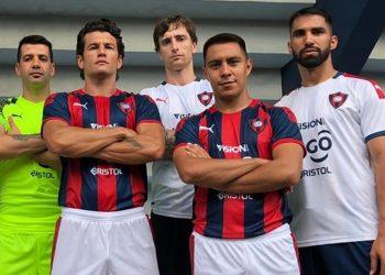 Camisetas Puma de Cerro Porteño 2020 | Imagen Twitter Julio Dos Santos