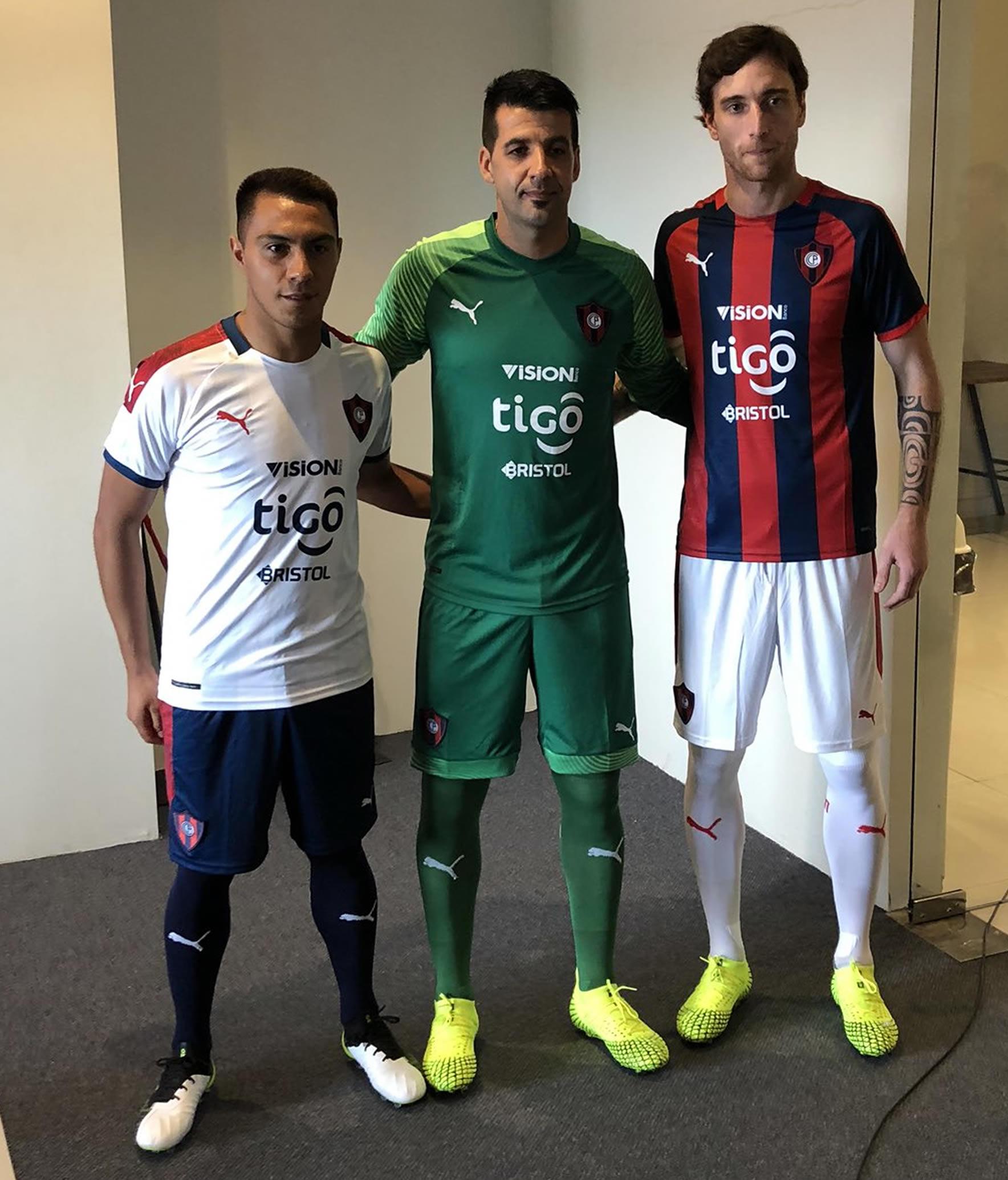 Camisetas Puma de Cerro Porteño 2020 | Imagen Twitter Oficial
