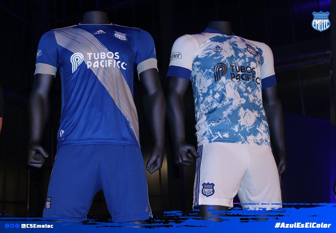 Camisetas Adidas 2020 del Emelec | Imagen Twitter Oficial