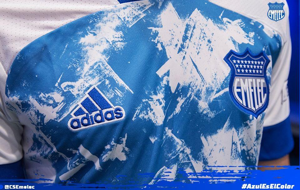 Camiseta alterna Adidas del Emelec 2020 | Imagen Twitter Oficial