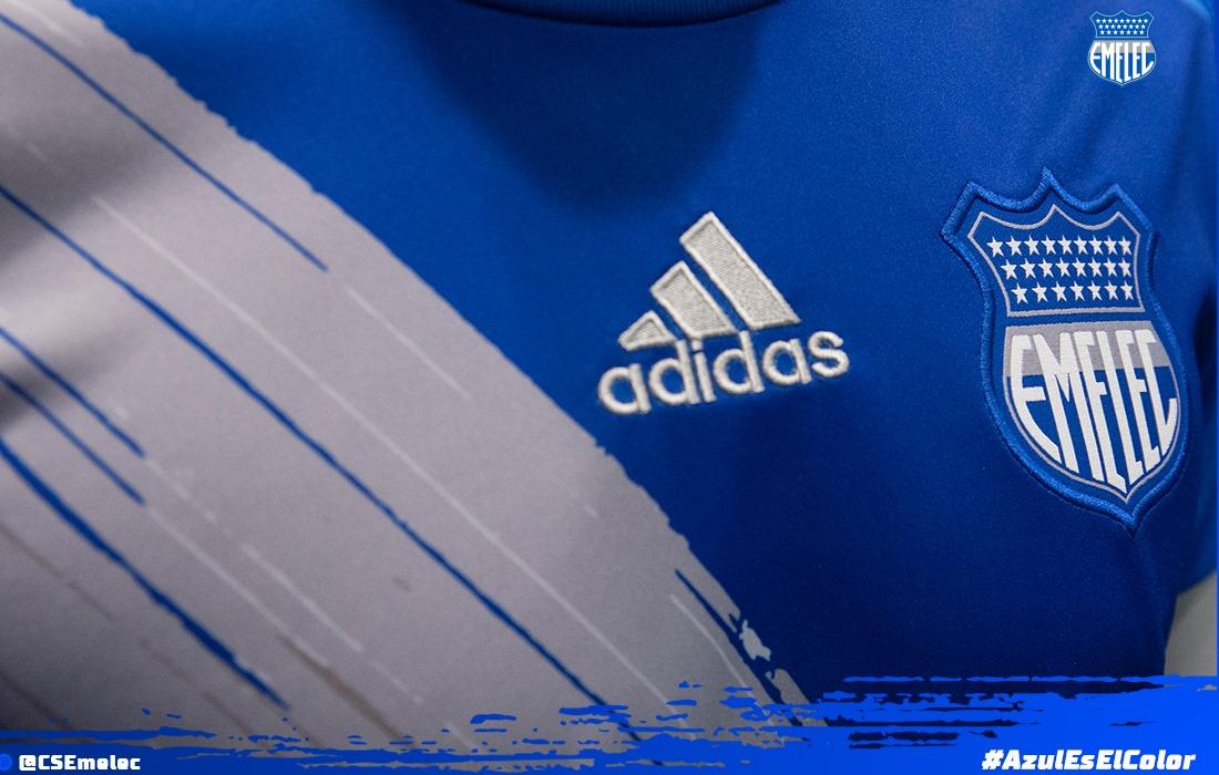 Camiseta titular Adidas del Emelec 2020 | Imagen Twitter Oficial