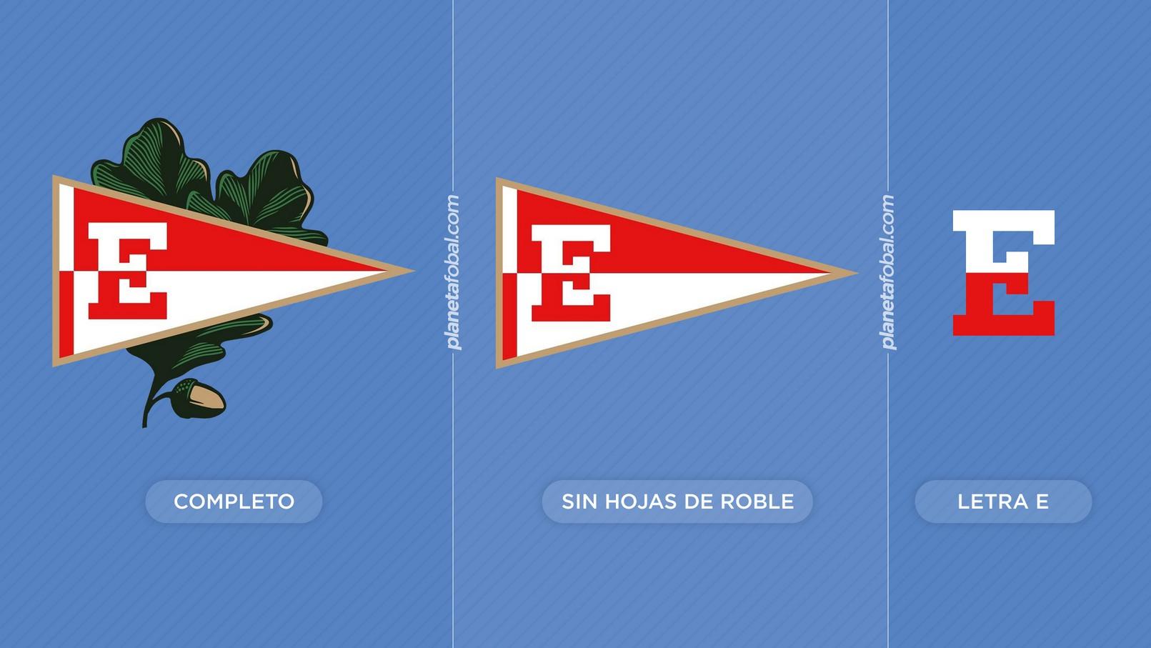 Diferentes aplicaciones que puede tener el escudo | Imágenes Web Oficial